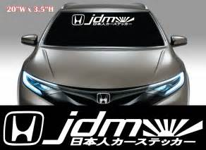 jdm sticker rear window jdm stickers on windshield www pixshark com images