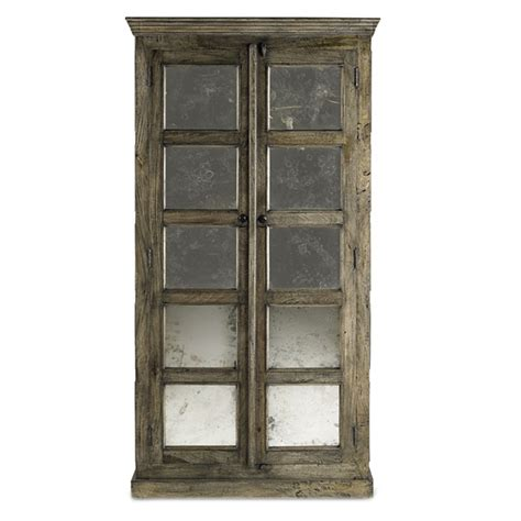 Country Style Mirrors Home Decor Antiqued French Tall Cabinet Mirror Panels