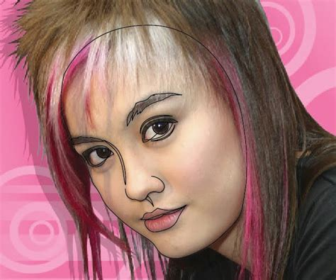 tutorial gambar vector wajah gambar vector wajah di illustrator sabarudin91