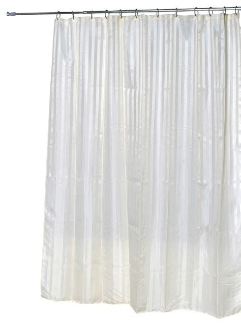 houzz shower curtains polyester shower curtain vertical bands beige