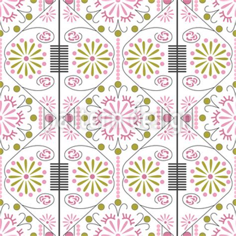 kpop pattern password korean flower vector pattern