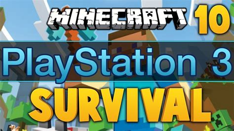 you always win minecraft minecraft ps3 survival ep 10 dumb and dumber