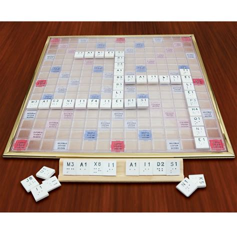 deluxe scrabble set deluxe braille scrabble set