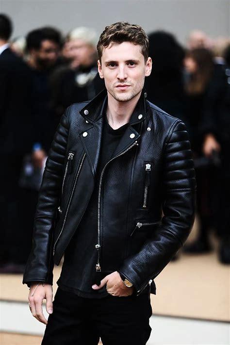 mens leather biker jacket leather biker jacket leather style black