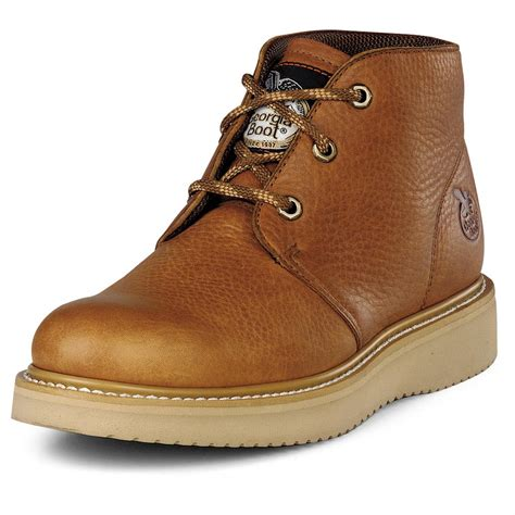 s 174 chukka wedge work boots barracuda gold