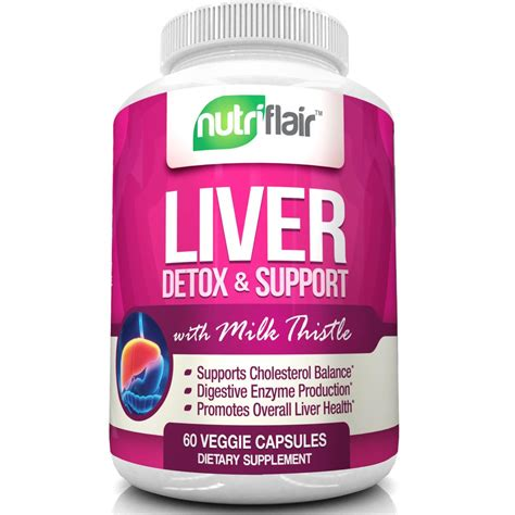 Cinnamon Liver Detox by Nutriflair Liver Detoxifier And Support With Milk Thistle