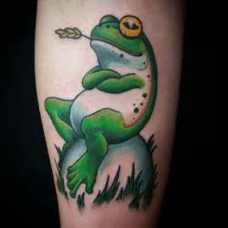 80 lucky frog tattoos
