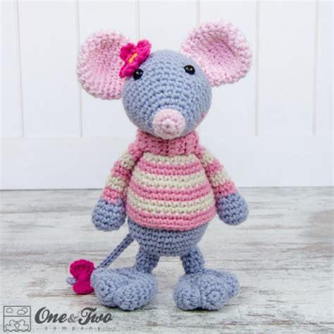 amigurumi pattern mouse emily the mouse amigurumi crochet pattern