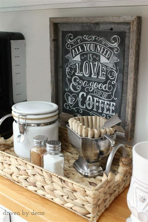 home decor source i love this coffee station organizing the kitchen our
