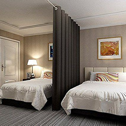 dividing a bedroom with curtains 17 best ideas about room divider curtain on pinterest
