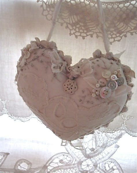 17 best images about shabby chic fabric hearts on