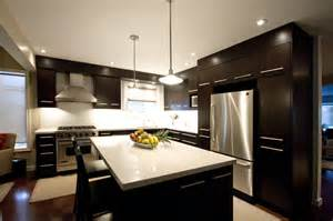 Brown Kitchens Designs by Dark Brown Kitchen Modern Kitchen Toronto By