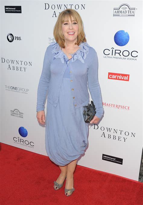 at the an evening with downton abbey event at the television academy phyllis logan photos photos arrivals at the downton
