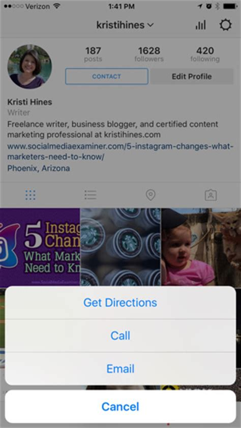 Instagram Search User By Email Instagram Business Profiles How To Set Up And Analyze