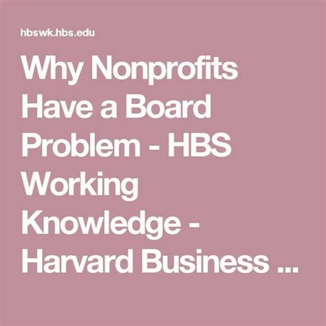 Harvard Mba Nonprofit by 1000 Images About Generative Nonprofit Governance On