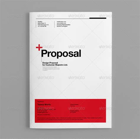 layout proposal bisnis proposal by egotype graphicriver