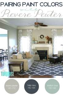 revere pewter coordinating colors pairing paint colors with revere pewter the turquoise home