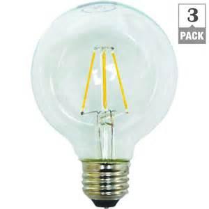 Led Light Bulb Pack Ecosmart 40w Equivalent Soft White G25 Dimmable Filament Led Light Bulb 3 Pack G2540wfile263p