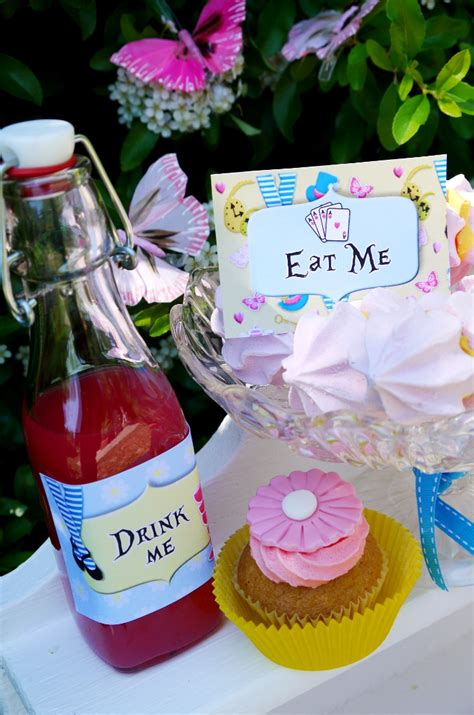 alice in wonderland printable party decorations alice in wonderland inspired un birthday tea party party
