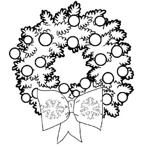Christmas Wreath Coloring Pages Wreath Ornaments Learn Free Printable Coloring Wreath Pages
