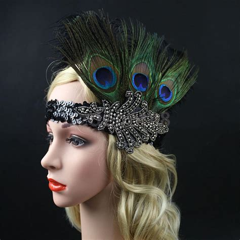 how to make a 1920s hairpiece online buy wholesale feather head pieces from china