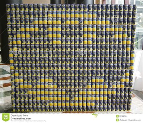 canstruction design plans heroes fight hunger food sculpture presented at