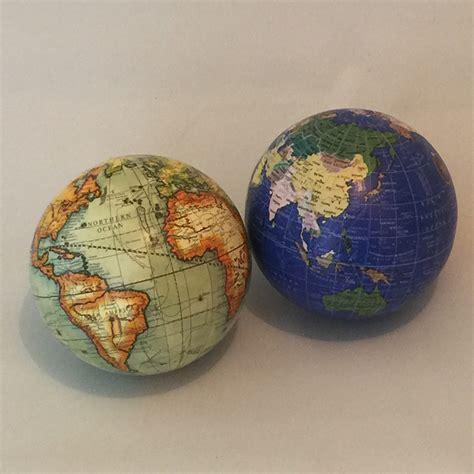 world globe home decor set of 2 decorative world globe deco balls map home decor