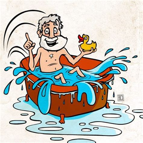 Archimedes Bathtub Story by The Story Of Archimedes Random Stuff For Science Class