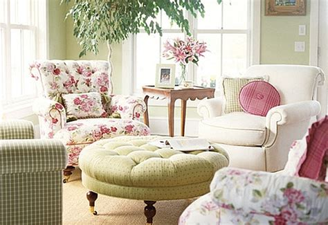 pink and green living room decorating with pink and green town country living