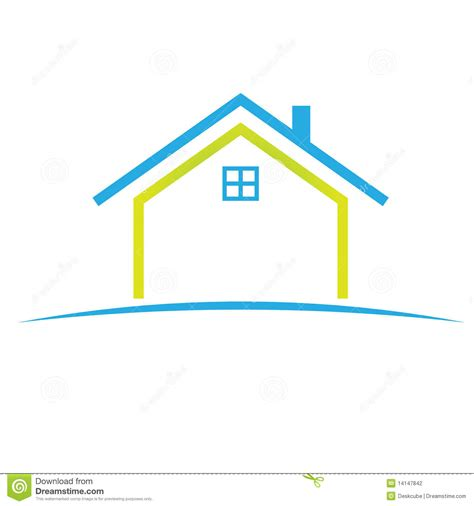 Nice House Plans by Logo Home Symbol Stock Vector Illustration Of Front