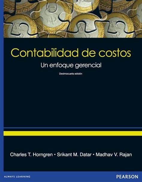 contabilidad de costos contabilidad de costos book charles t horngren