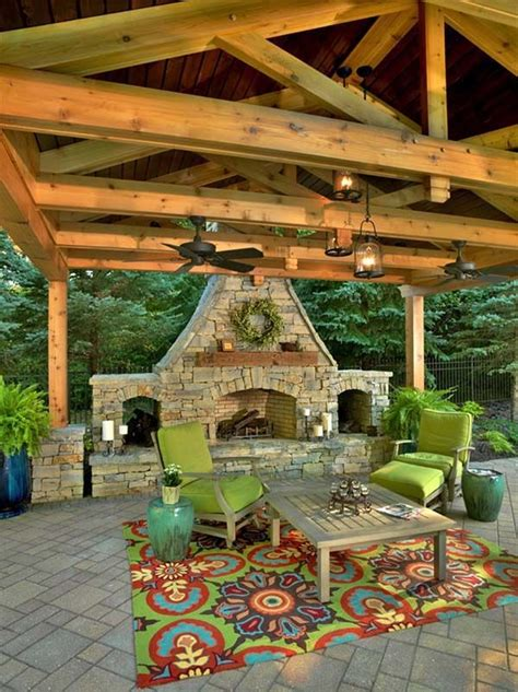Outdoor Living Room With Fireplace best 25 outdoor fireplaces ideas on pinterest outdoor