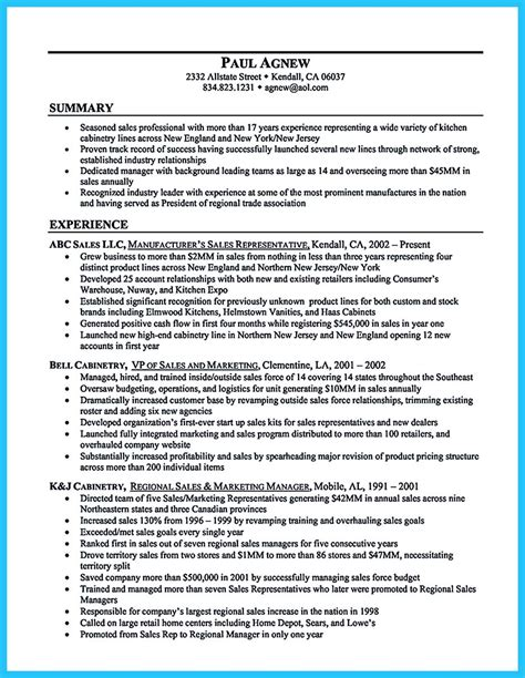 Resume Sles General Manager Writing A Clear Auto Sales Resume