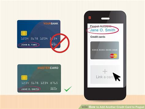 How To Add Mastercard Gift Card To Paypal - how to add another credit card to paypal 11 steps with pictures