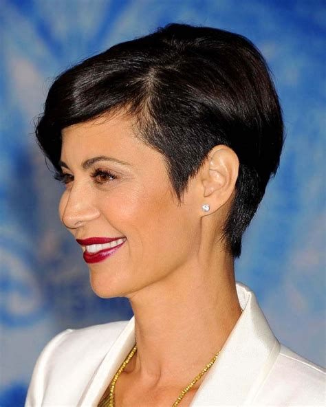 catherine bell short formal hair bell catherine new haircut catherine bell at disney s