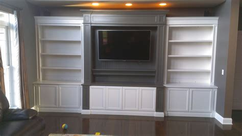 white wall unit bookcases bookcases c a custom woodworking inc