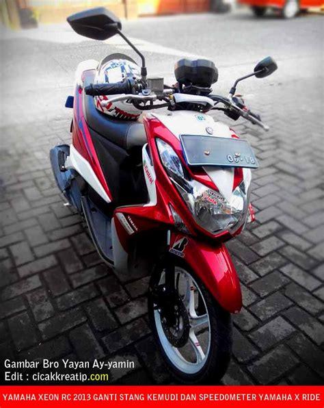 Speedometer Yamaha Xeon Rc Original modif yamaha xeon rc pakai stang kemudi dan speedometer yamah x ride cicakkreatip