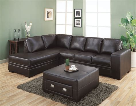 l shaped couch with ottoman brown leather corner sofa bed with upholstered storage