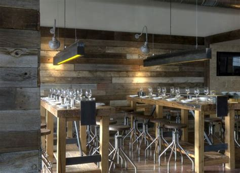 wooden boat restaurant how commercial spaces use recycled materials in beautiful