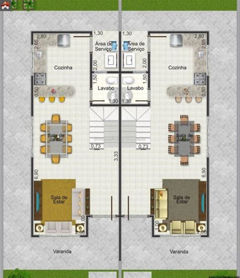 planta 3d 45 plantas de casas modernas e lindas projeto 3d gr 225 tis