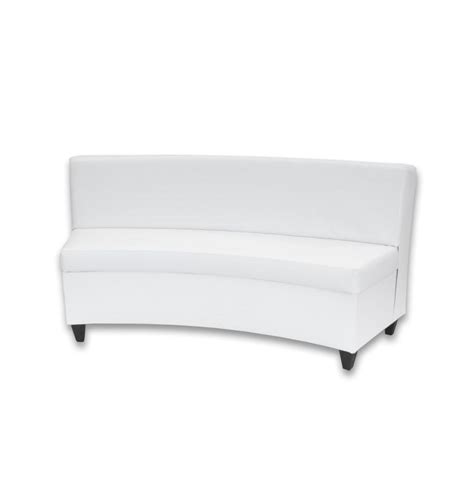 White Curved Sofa Curved White Italian Sofa Thesofa White Curved Sofa
