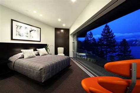 bedroom with view of nature