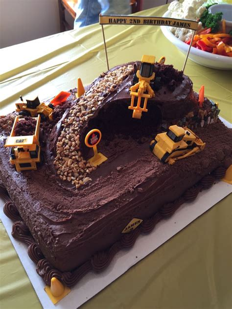 ideas  excavator cake  pinterest construction cakes digger cake  photo cakes