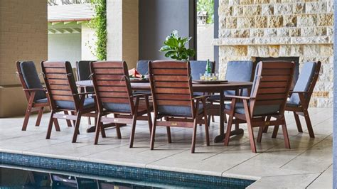 Montreal Patio Furniture by Montreal 13 Outdoor Oval Dining Setting Outdoor