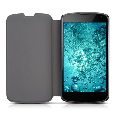 Nexus 4 Light by Flip Cover For Lg Nexus 4 Light Blue Slim Back