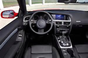 audi a5 2007 2016 interior autocar