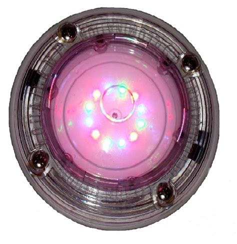 Low Voltage Pool Light by Aqual Rainbow Rays One Inground Pool In Wall Low