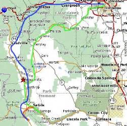 map of salida colorado area may 18