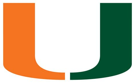 um colors file miami hurricanes logo svg