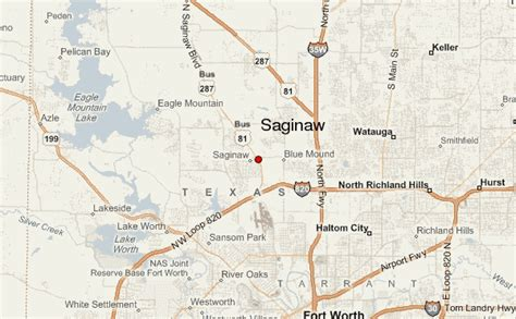 saginaw texas map saginaw location guide